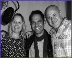 Corinne Baumli-Vogel, Roy Lembo und Jeannot Steck